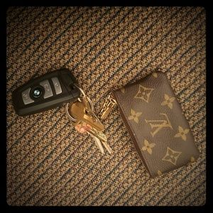 Louis Vuitton keychain card pouch